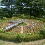城山公園の花時計の花苗を「夏用の花」に植替えました。是非見に行ってください。